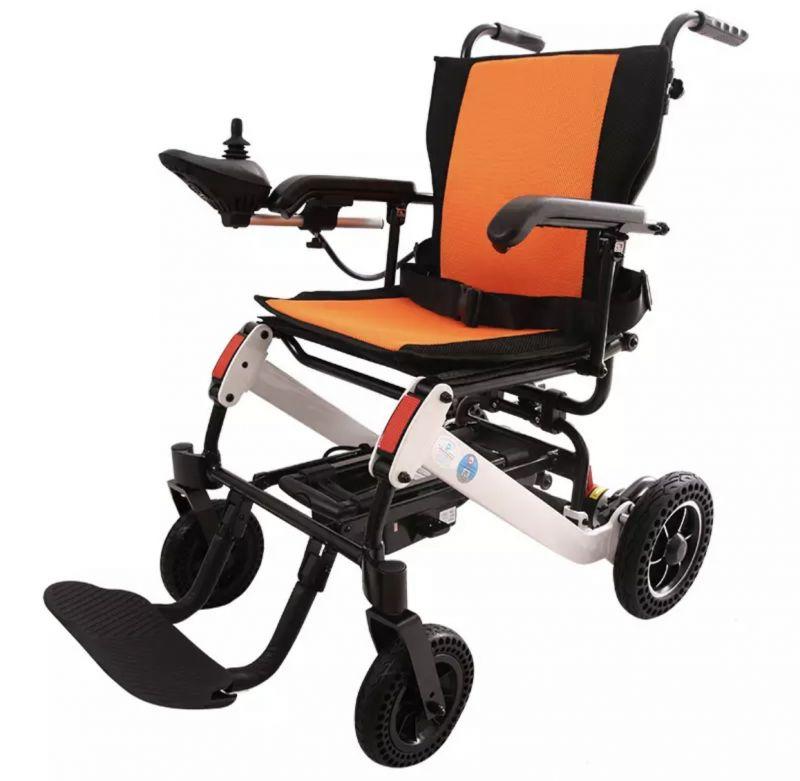 行李式拉杆旅行款电动轮椅-2018中国国际福祉博览会暨中国国际雷火官网博览会